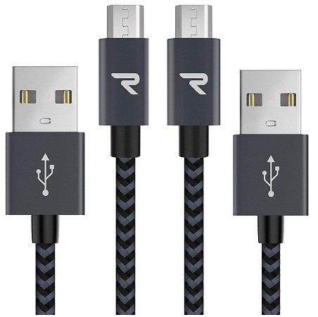 2 Rampow Produkte günstiger dank Gutschein, z.B. 2x Micro USB Kabel für 5,24€