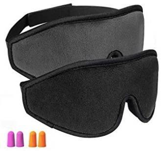 2er Pack Oiosen 3D Augenmasken zum Schlafen + Ohrstöpsel für 11,99€ (Prime)