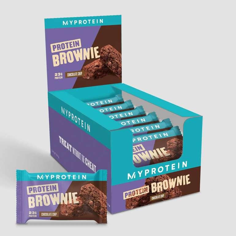 MyProtein: 60% auf über 250 Produkte + 40% Rabatt auf Bestseller - z.B. 12er Pack Protein Brownies für 14,39€ (statt 24€)