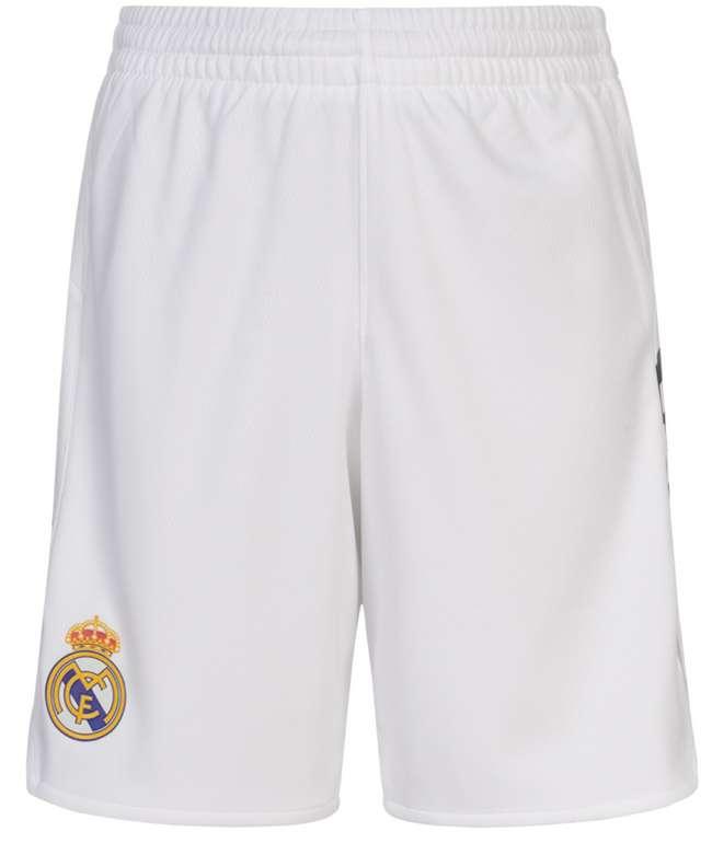 adidas Real Madrid Kinder Basketball Heim Shorts in Weiß für 15,94€inkl. Versand (statt 20€)