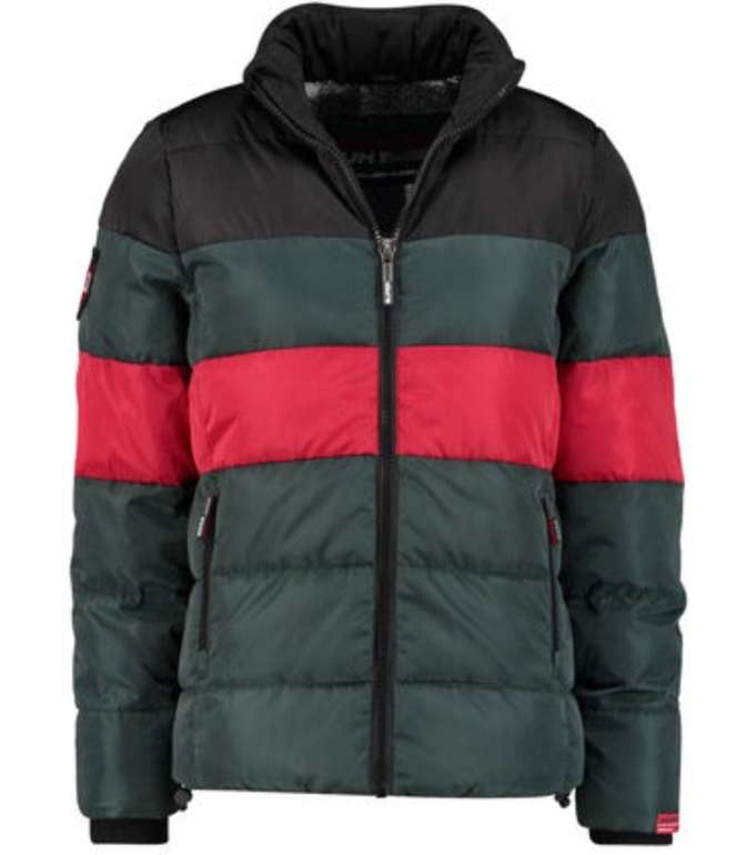 Superdry Colour Stripe Sports Herren Steppjacke für 62,91€ inkl. Versand (statt 75€)