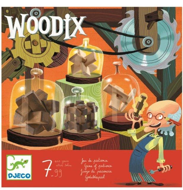 """Kniffeliges Holzpuzzle """"Woodix"""" für 11€ inkl. Versand (statt 23€)"""