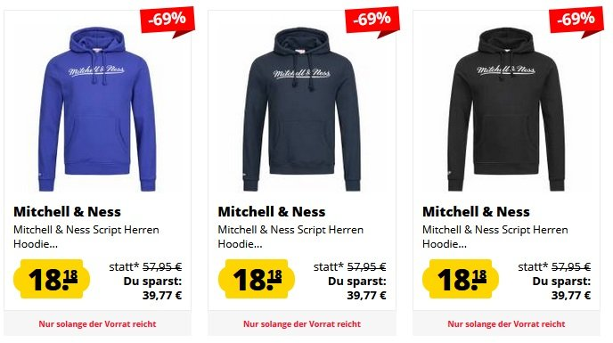 Mitchell & Ness Sale SportSpar