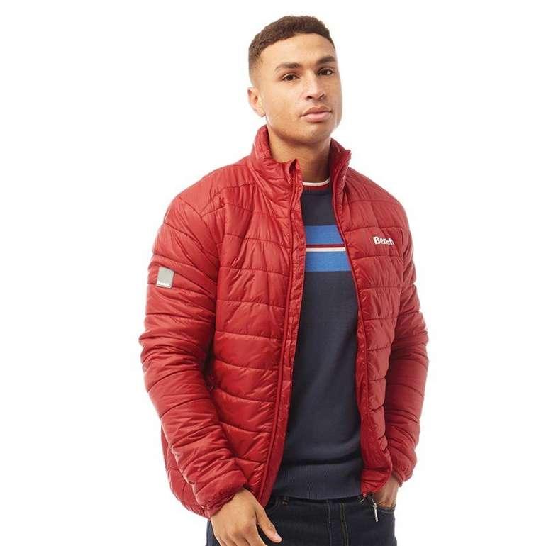 Bench Herren Gartner Jacke in Rot für 40,44€ inkl. Versand (statt 65€)