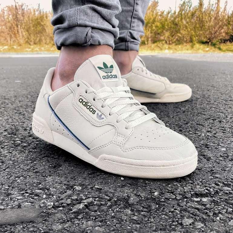 adidas Originals Continental 80 Herren Sneaker ab 48,48€ (statt 56€) - 36 bis 41!