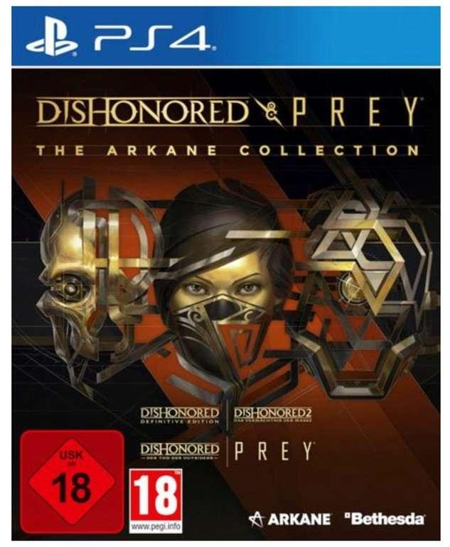 The Arkane Collection: Dishonored & Prey (PlayStation 4) für 22,94€ inkl. Versand (statt 40€)