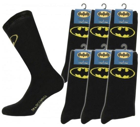 6er-Pack DC Comics Batman Socken für 9,99€ inkl. Versand