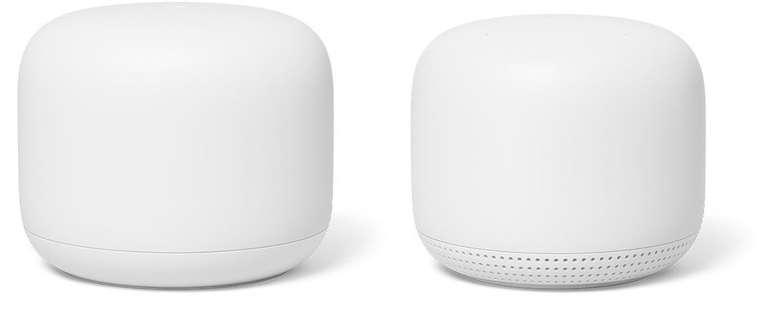 Google Nest WiFi Bundle: Router und Access Point für 145€ inkl. Versand (statt 239€) - Newsletter