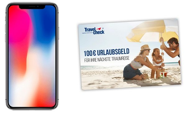 Vodafone 17GB LTE Allnet Flat + iPhone X+ 100€ Reise-GS zu 41,99€ mtl (18-27 J.)