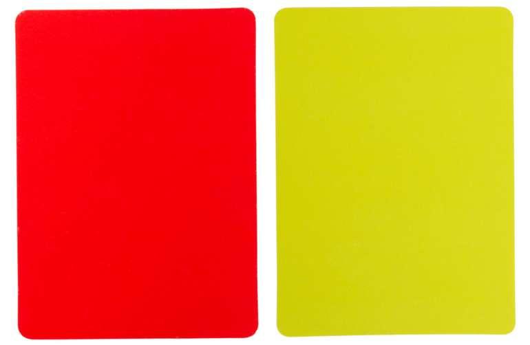 Jelex FairPlay Schiedsrichter Karten Set für 0,99€ zzgl. Versand (statt 2€)