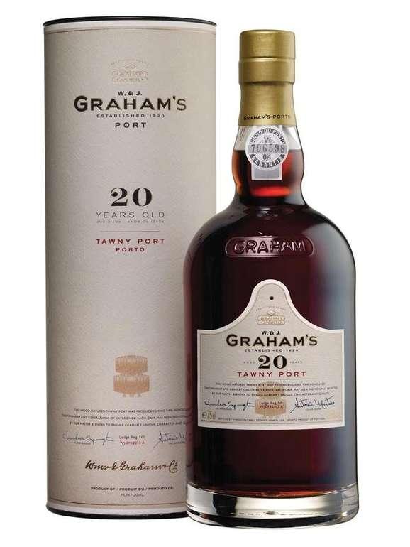 3x Graham's Tawny 20 Jahre Portwein für 100€ inkl. Versand (statt 127€)