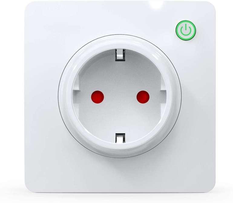 Milfra WLAN Smart Steckdose (Alexa, Stromverbrauchmessung) für 6€ inkl. Prime Versand (statt 18€)