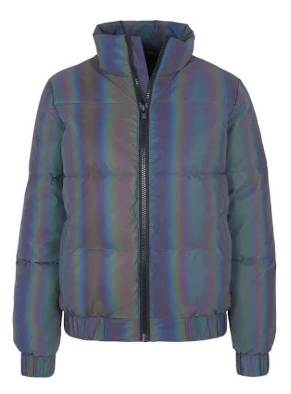 Urban Classics Iridescent Jacke in silber für 64€ inkl. Versand (statt 113€)