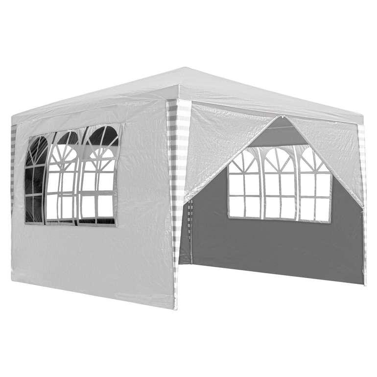 Hengda Gartenpavillon mit Seitenteilen in 3 verschiedenen Größen ab 28,69€ inkl. VSK