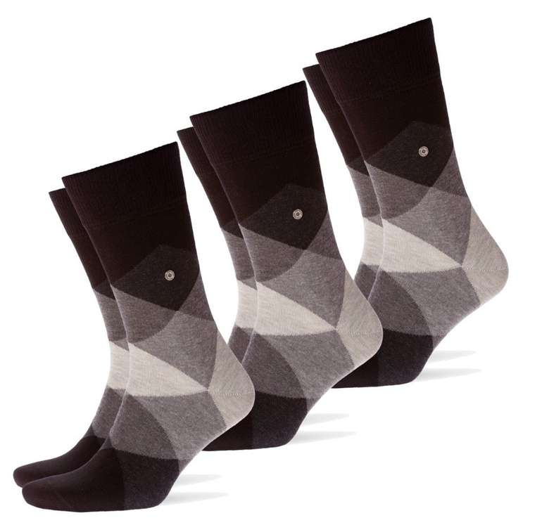 3er Pack Burlington Clyde Herren Socken für 29,95€ inkl. Versand (statt 35€)