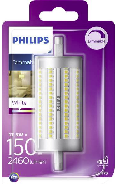 Philips LED R7S 118mm Lampe dimmbar (2460 Lumen, 17,5W = 150W) für 9,99€ inkl. Versand (statt 25€)