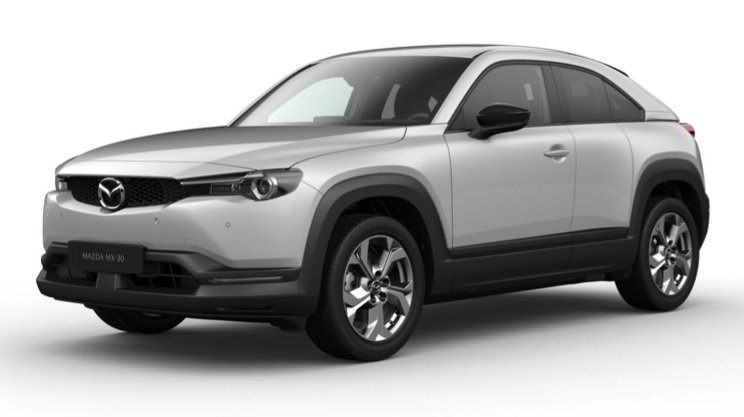 Privat-Leasing: Mazda MX-30 MX-30 e-SKYACTIV Advantage mit 145 PS für 179,57€ mtl. (LF:0,51; BAFA; ÜF: 990€)