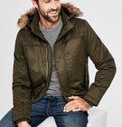 s.Oliver Herren Blouson-Jacke mit Fake Fur für 44,97€ inkl. VSK (statt 99€)