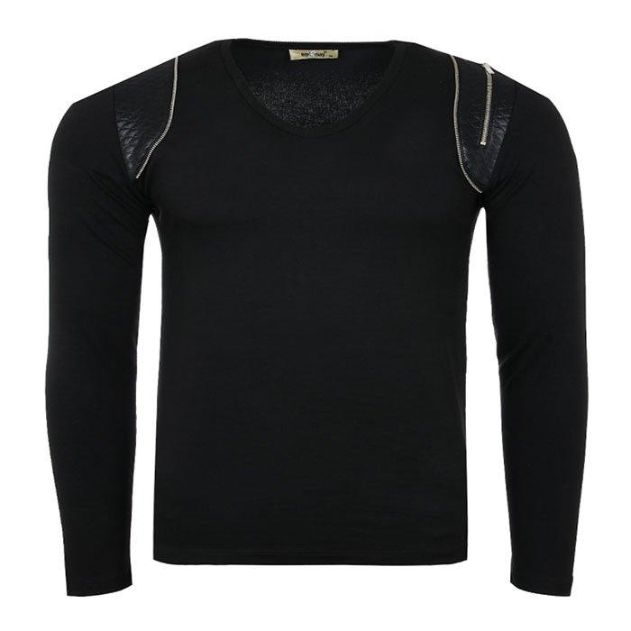 Tazzio Fashion Herren Sweatshirt in grau und schwarz für 9,99€ inkl. Versand