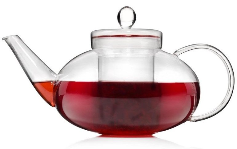 Sänger Teekanne aus Glas (mit Teesieb) für 10,99€ inkl. Versand