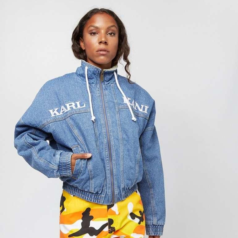 Karl Kani Damen Sherpa Jeansjacke für 45,99€ inkl. Versand (statt 89€)