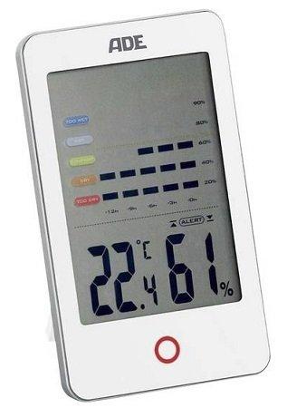 ADE WS1700 Thermo-/Hygrometer Weiß für 10€ inkl. VSK (statt 22€)