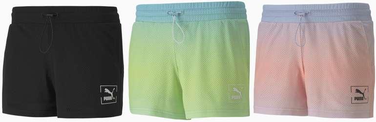 Puma Tie Dye Mesh Damen Shorts in drei Farben für je 15,55€ inkl. Versand (statt 33)