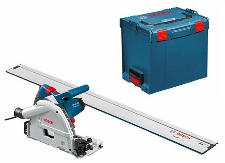 Bosch GKT 55 GCE Professional Tauchsäge mit Führungsschiene & L-BOXX für 399,95€ (statt 444€)