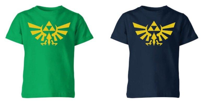 Nintendo Zelda Triforce T-Shirt + Zelda Tasse 2