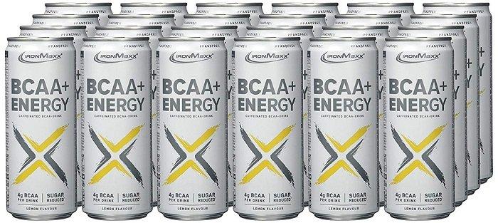 24 x 330ml IronMaxx BCAA + Energy - (Pfandfrei) für 9,66€ inkl. VSK (statt 29€)