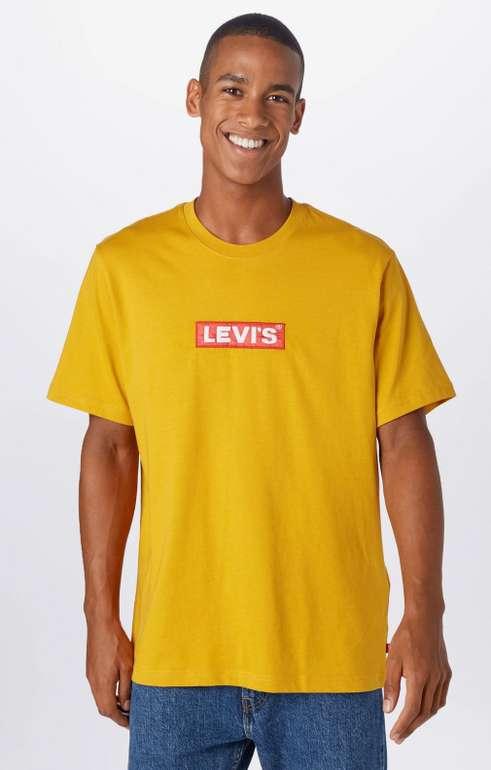 Levi's T-Shirt in gelb für 11,12€ inkl. Versand (statt 18€)