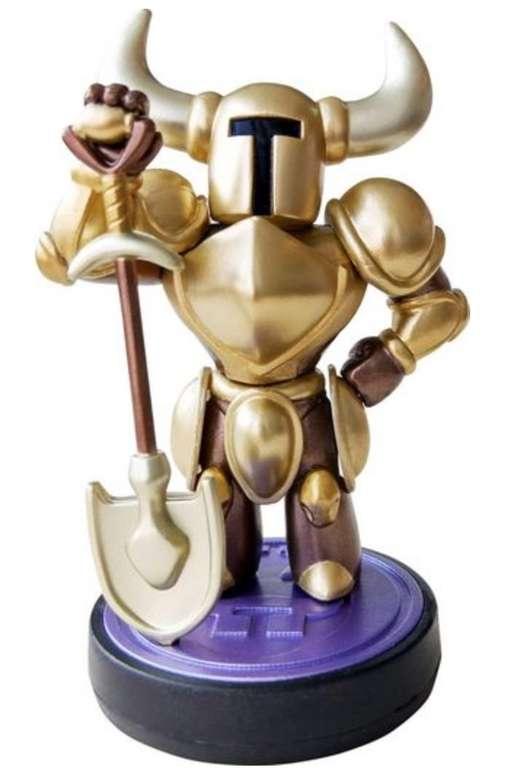 Nintendo amiibo Shovel Knight (Gold Edition) für 11,88€ inkl. Versand (statt 18€)