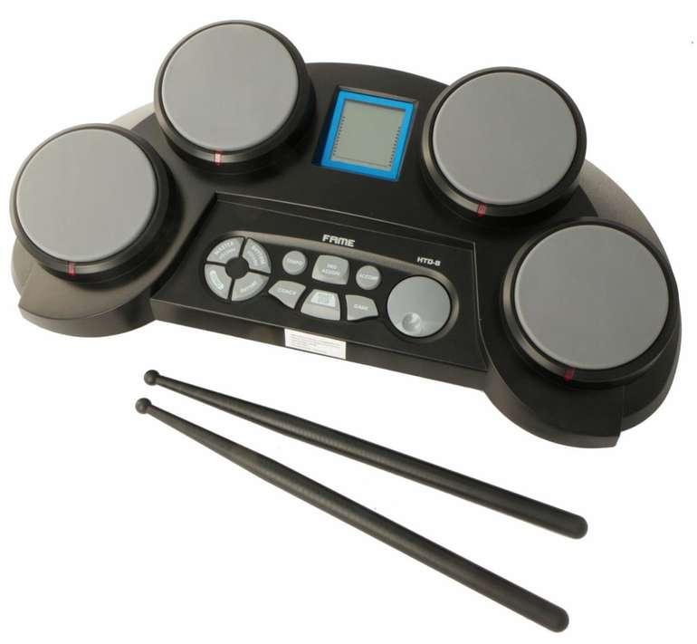 Fame HTD-8 Digital Drum - Elektronisches Schlagzeug mit Lautsprecher für 35€ inkl. Versand (statt 42€)