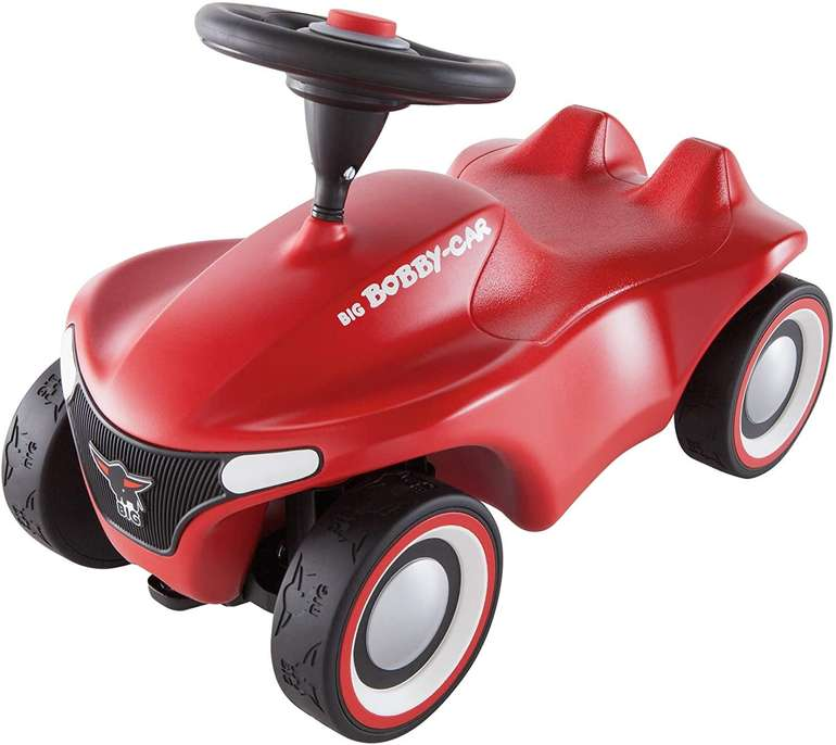 Big-Bobby-Car Neo in Rot - Rutschfahrzeug für drinnen und draußen je 33,36€ inkl. Versand (statt 45€)