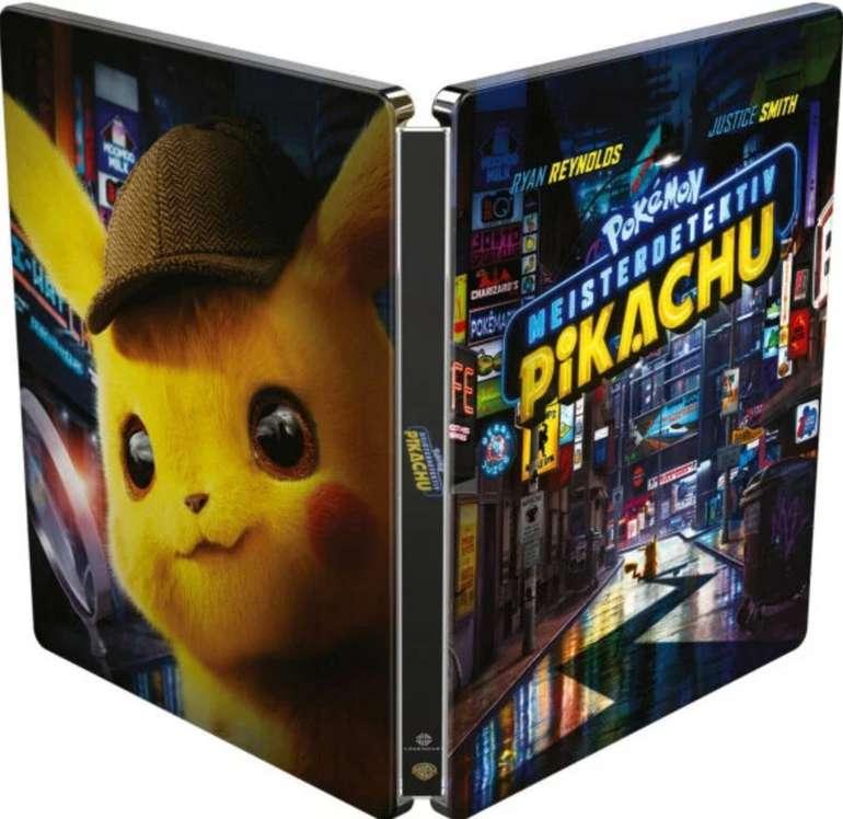 Pokémon: Meisterdetektiv Pikachu - Limited Steelbook Edition (Blu-ray) für 12,99€ (statt 22€)