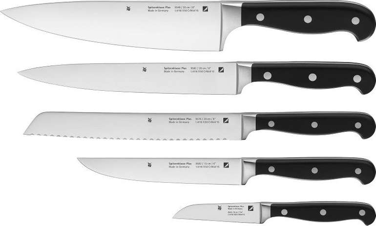 5-teiliges WMF Messerset Spitzenklasse Plus für 89€ inkl. VSK (statt 129€)