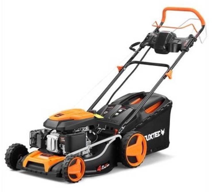 15% Rabatt auf Garten & Heimwerker - z.B. Fuxtec Benzin-Rasenmäher für 279€