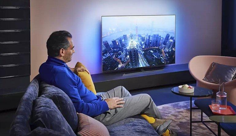 Philips 55OLED855 12 - 55 Zoll OLED 4K Smart TV