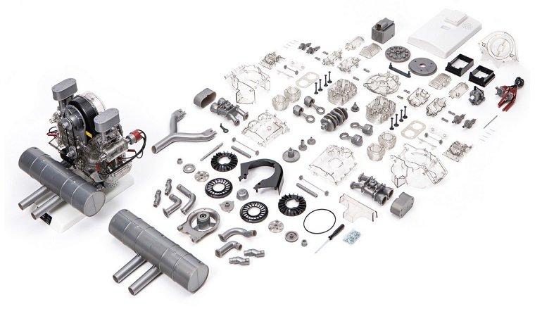 FRANZIS Porsche Carrera-Rennmotor 2
