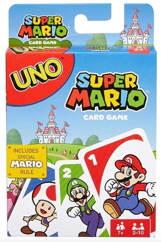 Mattel - Uno Super Mario Edition (Kartenspiel, 2-10 Spieler) für 11,98€ inkl. Versand (statt 15€)