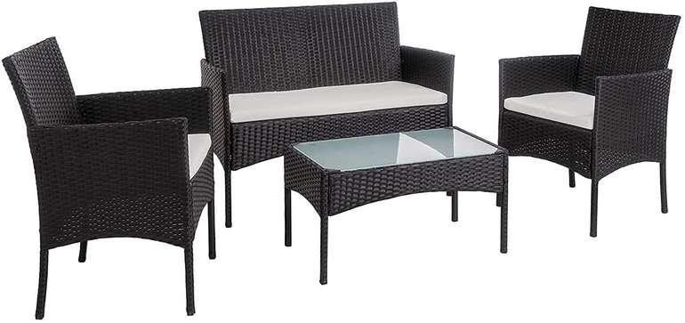 Einfeben Polyratten Sitzgruppe in 2 Farben für je 95,99€ inkl. Versand (statt 150€)