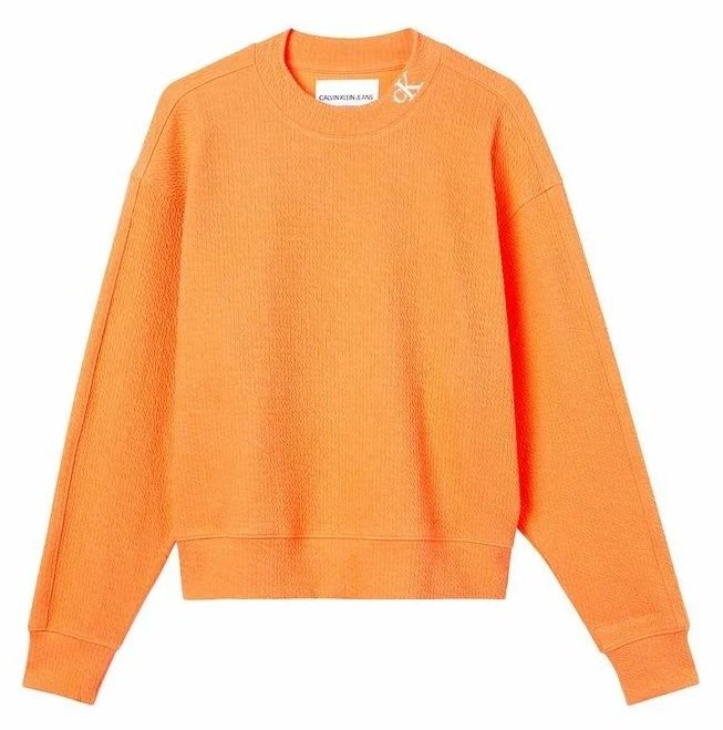 Calvin Klein Jeans Sweatshirt in Orange für 49,90€ inkl. Versand (statt 100€)