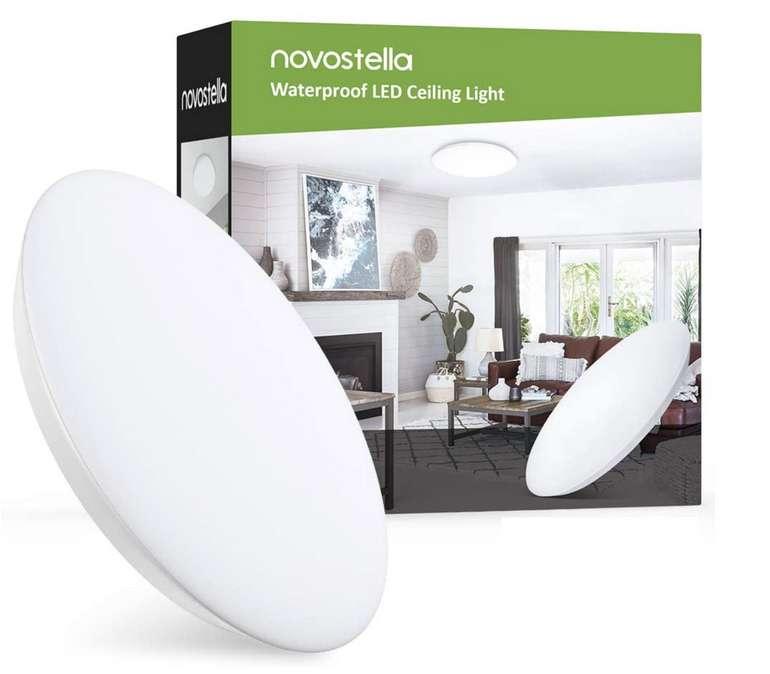 Novostella LED Deckenleuchte (18W, 1800LM, 6000K) für 14,99€ inkl. Prime Versand (statt 30€)