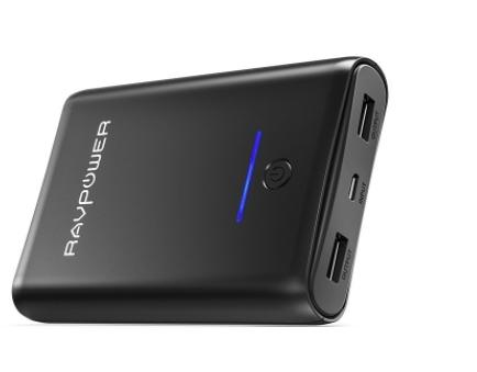 RAVPower 10000mAh Powerbank für 11,49€ mit Prime dank Code