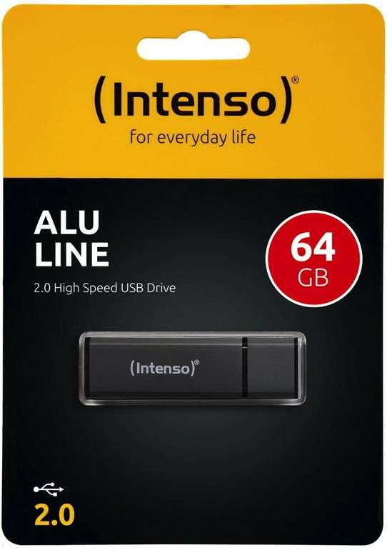 Intenso Alu Line USB Stick mit 64GB für 6,99€inkl. Versand (statt 9€)
