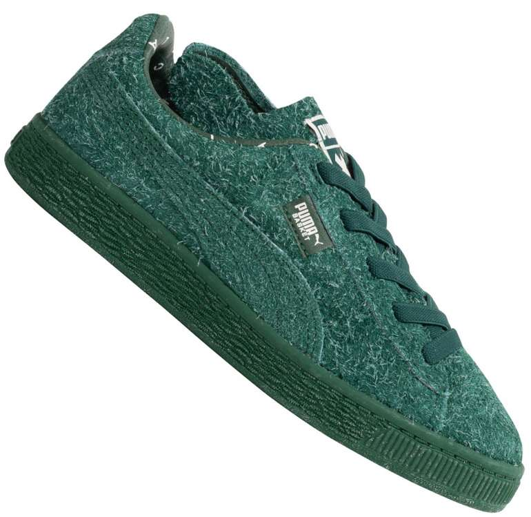 Puma x Tinycottons Basket Furry PS Kinder Sneaker für 33,94€ inkl. Versand (statt 38€)