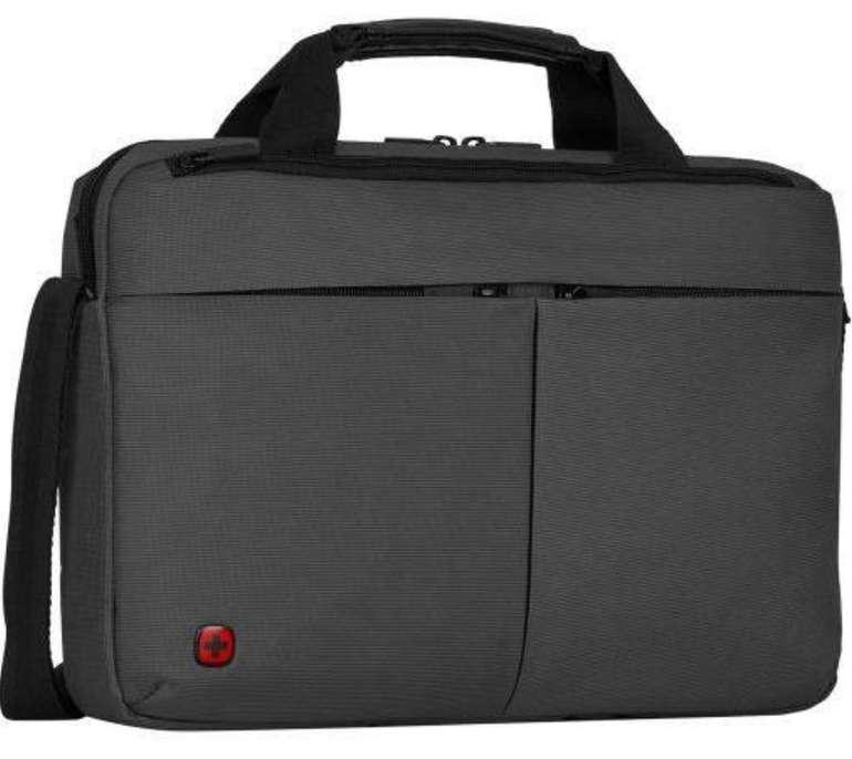 """Wenger Format - Laptop Slimcase (16"""", 6 Liter, 40 x 28 x 8 cm, Gepolstertes Laptopfach, Tabletfach) für 17,77€"""