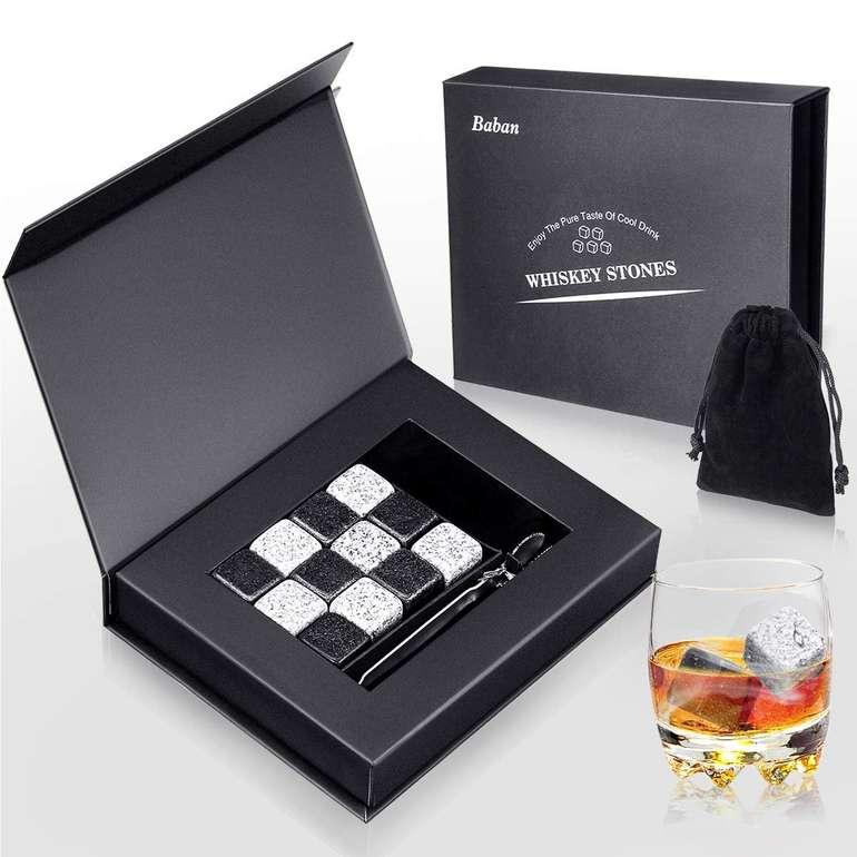 Baban 12 Whisky Steine im Geschenk Set für 8,39€ inkl. Prime Versand (statt 14€)