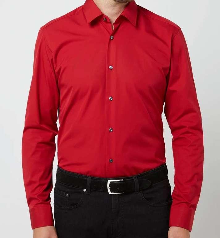 Boss Eliott Regular Fit Business-Hemd aus Popeline (versch. Farben) für je 27,99€ (statt 60€) - Kundenkarte!