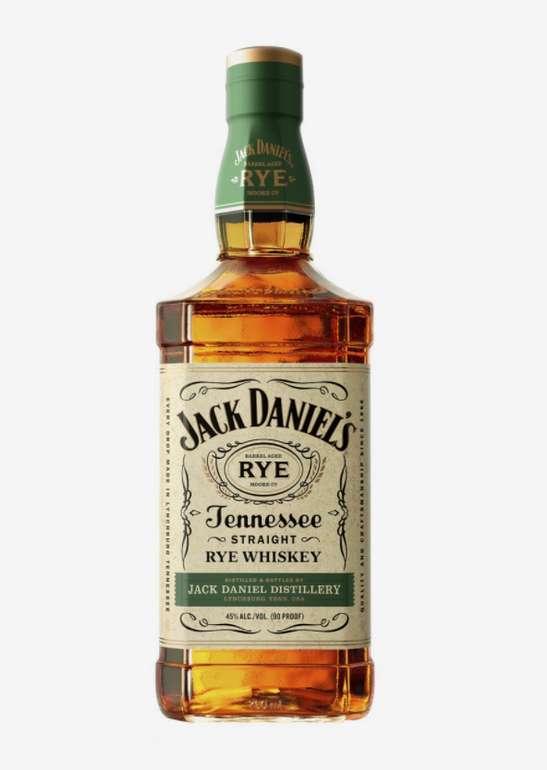 2x Jack Daniel's Rye 45% (1 Liter) für 58,50€inkl. Versand (statt 67€)